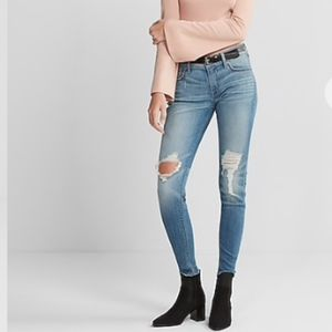 NWT Express Stretch Ripped Jeans